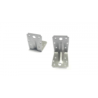 Enhanced Corner Bracket 70/70 – Perforated Connector/Joint